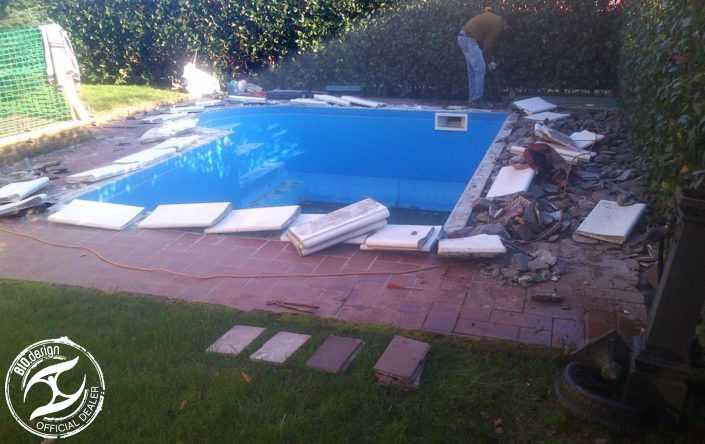 Ristrutturazione di piscine tradizionali - Foto 3 - Prima