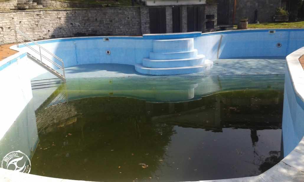 Ristrutturazione di piscine tradizionali - Foto 2 - Prima